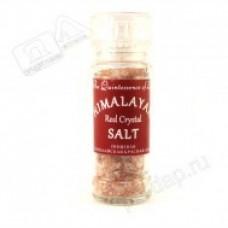 Соль Пищевая Гималайская Красная  Мельничка