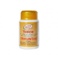 Трикунтак  (аюрведическое средство от камней в почках), 100 табл, Шри Ганга,  Trikuntak  Shri Ganga