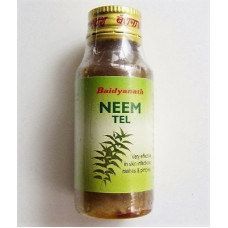 Масло Ним (Neem oil) 100%, Baidyanath	50Ml