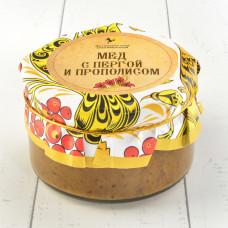 Мёд с пергой и прополисом