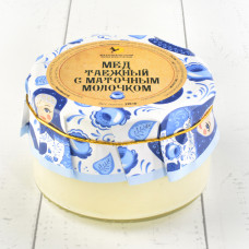 Мёд таёжный с маточным молочком