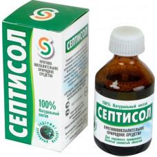 Противоспалительное гигиеническое средство Септисол 50 мл., Септисол