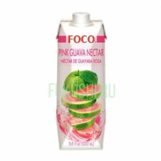 Нектар из розовой гуавы FOCO,  330мл