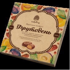грильяжные конфеты Фрутодень, 120гр, Сибирский кедр