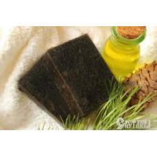 Кедровое мыло целебное с березовым дегтем