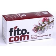 Фиточай, Фитоком Алтай, серии Fito.com, Для поджелудочной железы, №20х2 г.