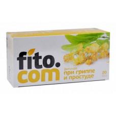 "Фиточай серии ""fito.com"" При гриппе и простуде, №20х2 г"